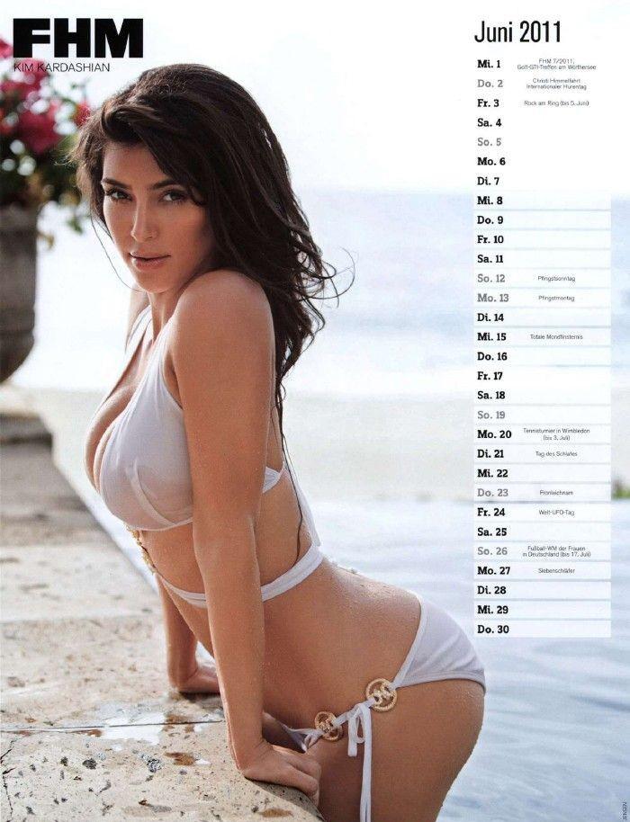 Ким Кардашян голая. Фото - 50