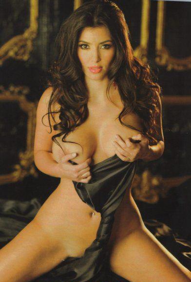 Ким Кардашян голая. Фото - 52