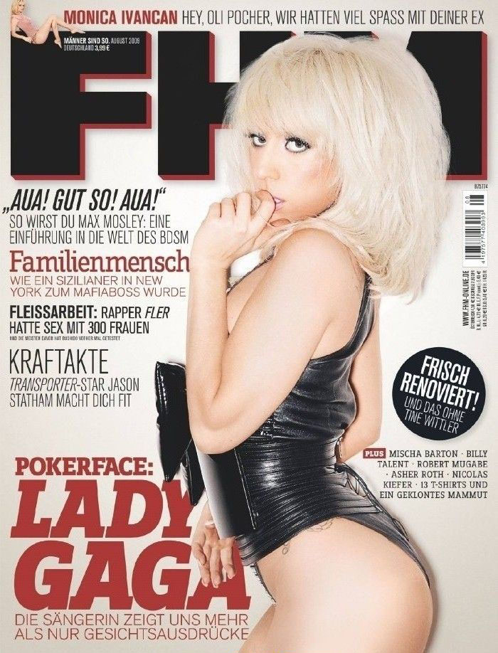 Леди Гага голая. Фото - 15