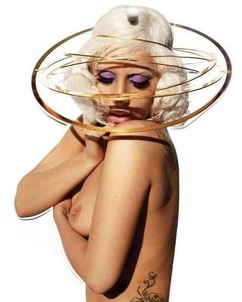 Леди Гага голая. Фото - 4