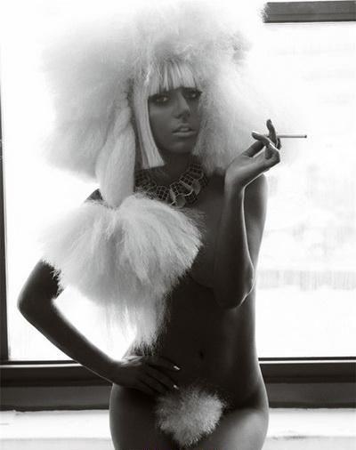 Леди Гага голая. Фото - 5