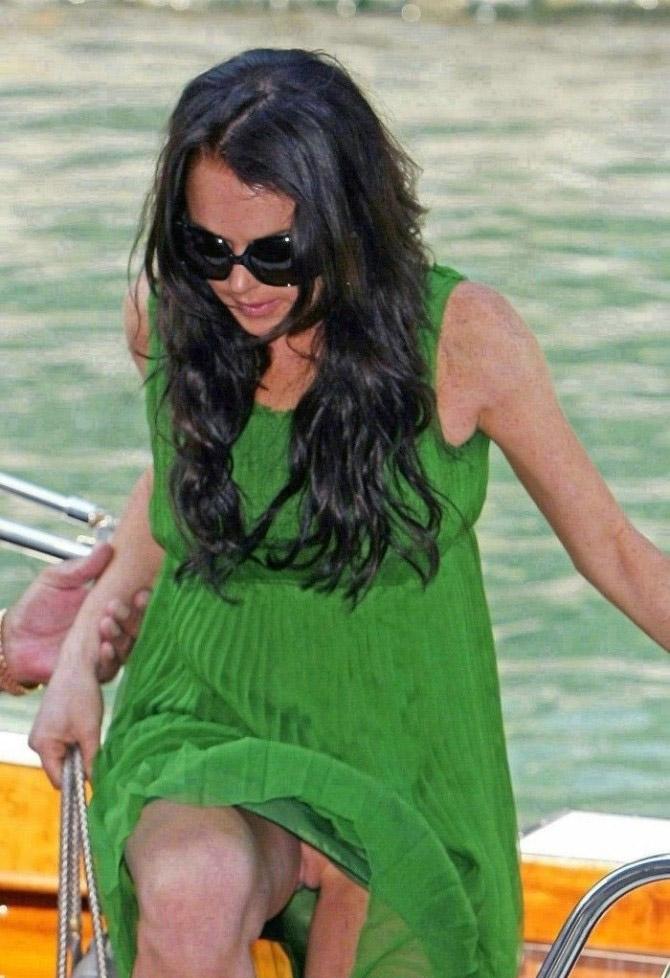 Линдси Лохан голая. Фото - 25