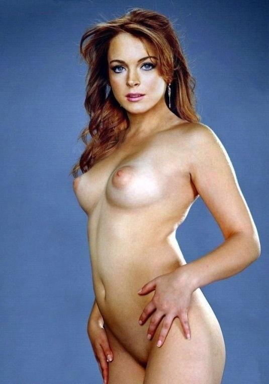 Линдси Лохан голая. Фото - 28