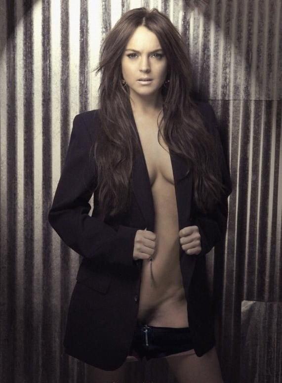 Линдси Лохан голая. Фото - 32