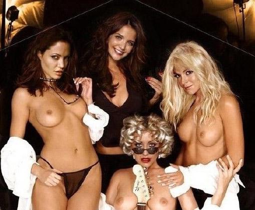 Линдси Лохан голая. Фото - 45