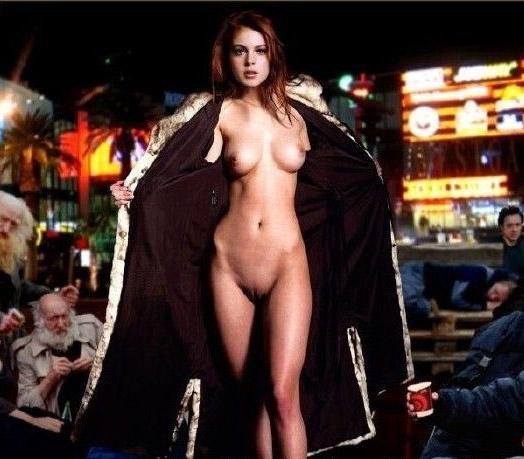 Линдси Лохан голая. Фото - 60