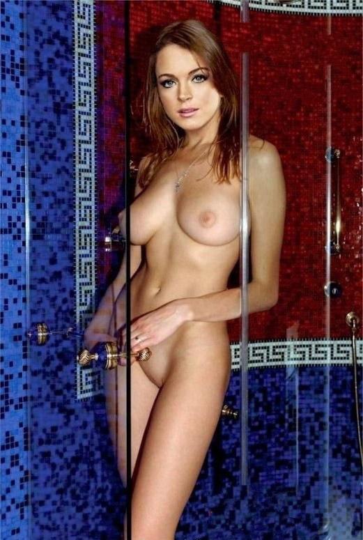 Линдси Лохан голая. Фото - 69