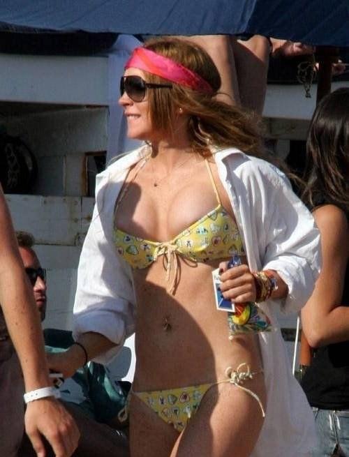 Линдси Лохан голая. Фото - 74