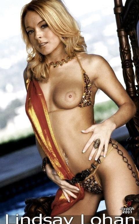Линдси Лохан голая. Фото - 97