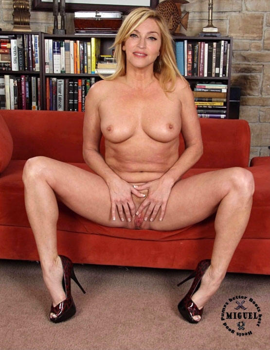 Madonna Nackt. Fotografie - 100