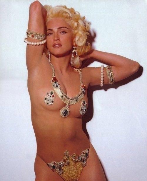 Madonna Nackt. Fotografie - 15
