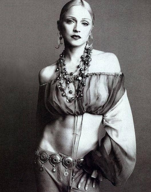 Madonna Nackt. Fotografie - 35