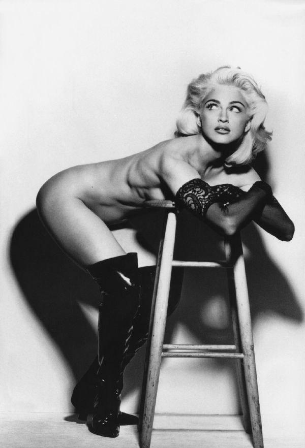 Madonna Nackt. Fotografie - 37