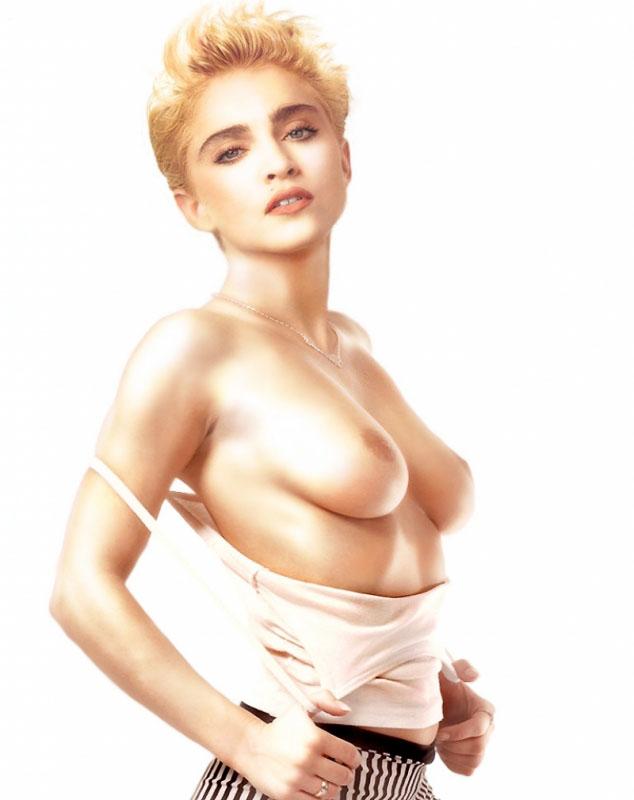 Madonna Nackt. Fotografie - 45