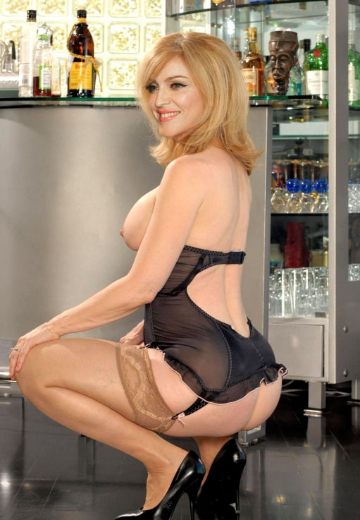 Madonna Nackt. Fotografie - 51