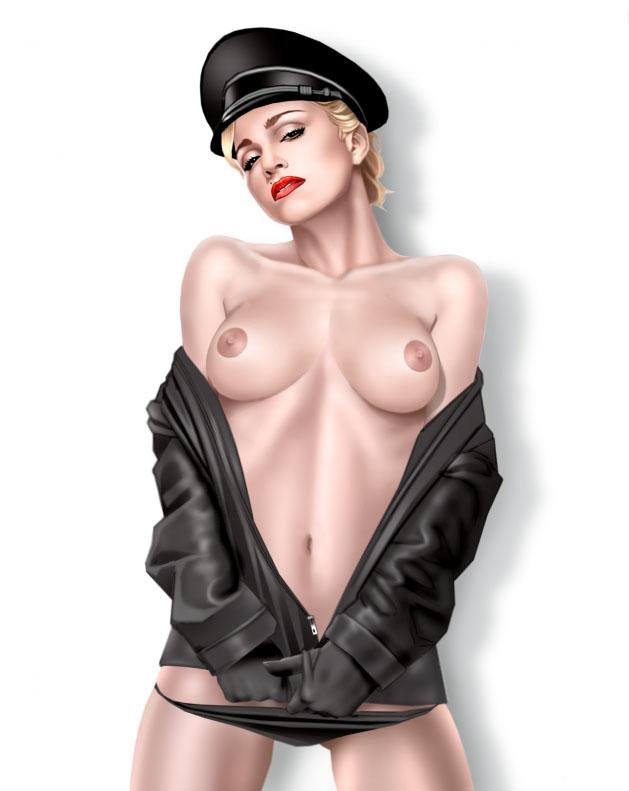Madonna Nackt. Fotografie - 64
