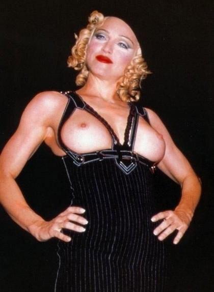 Madonna Nackt. Fotografie - 7