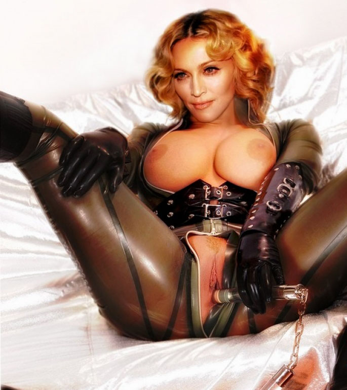 Madonna Nackt. Fotografie - 77