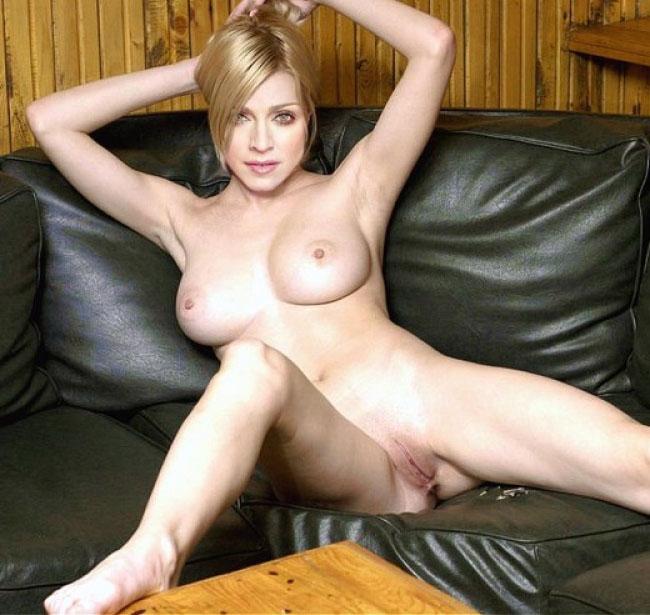 Madonna Nackt. Fotografie - 85