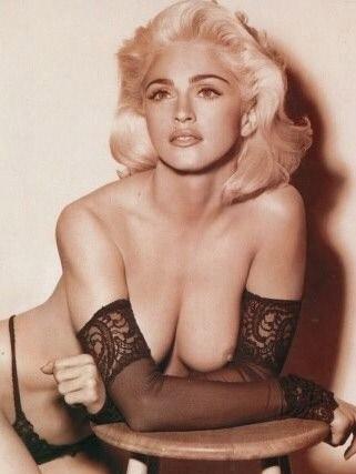 Madonna Nackt. Fotografie - 9