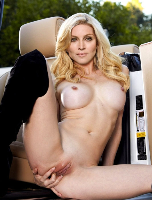 Madonna Nackt. Fotografie - 90