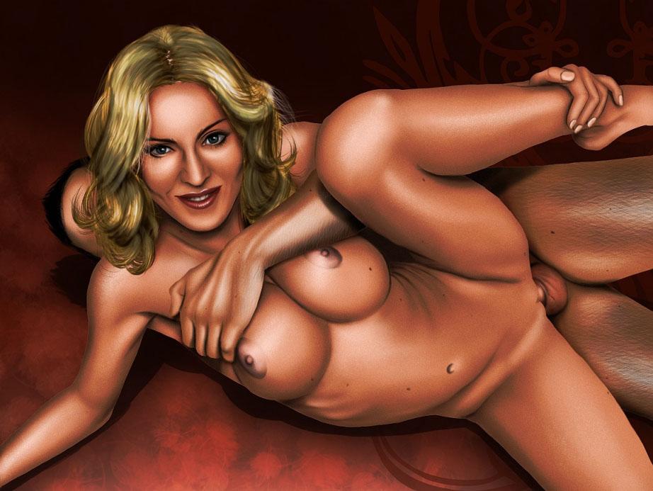 Madonna Nackt. Fotografie - 94