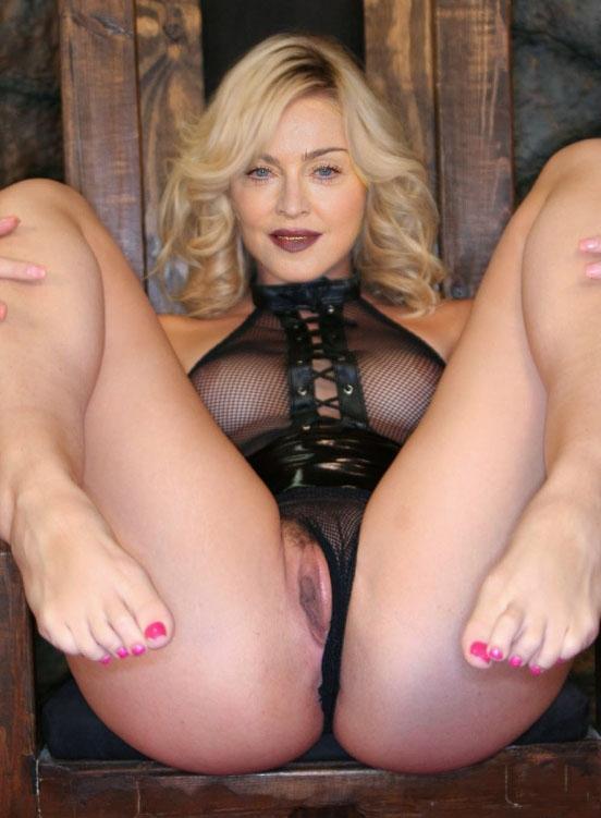 Madonna Nackt. Fotografie - 96