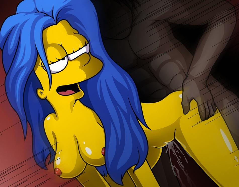 Sweet pussy of marge simpson