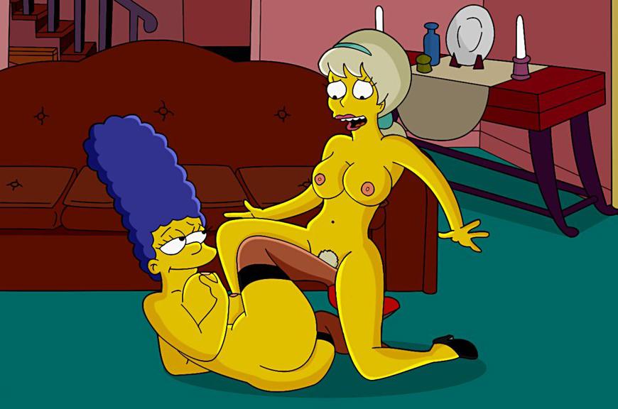 Marge simpson nude comics the simpsons nude