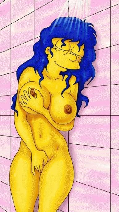 Мардж Симпсон голая. Фото - 17
