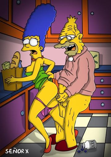 Мардж Симпсон голая. Фото - 20