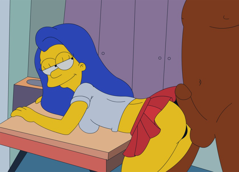 Мардж Симпсон голая. Фото - 22