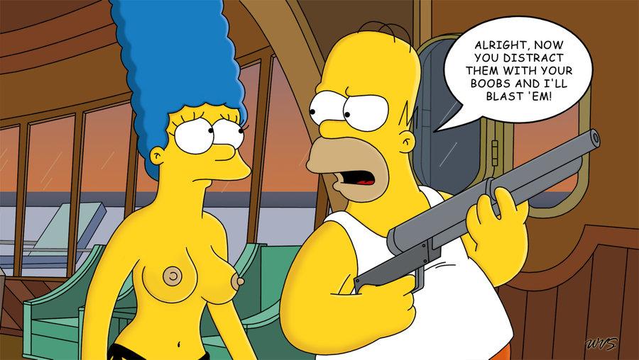 Мардж Симпсон голая. Фото - 24