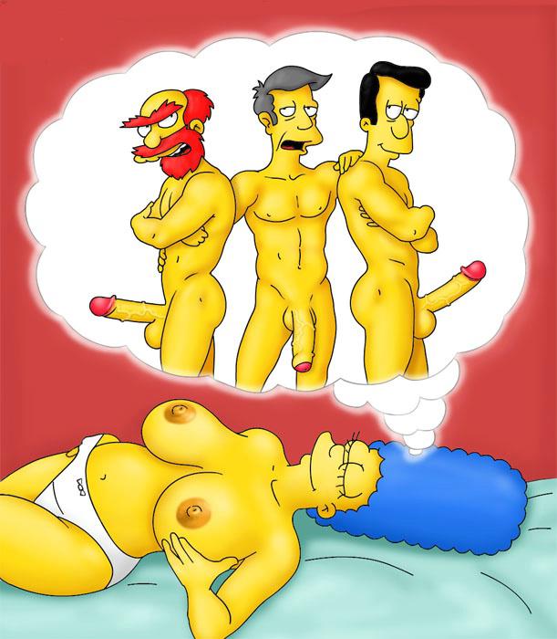 Мардж Симпсон голая. Фото - 25