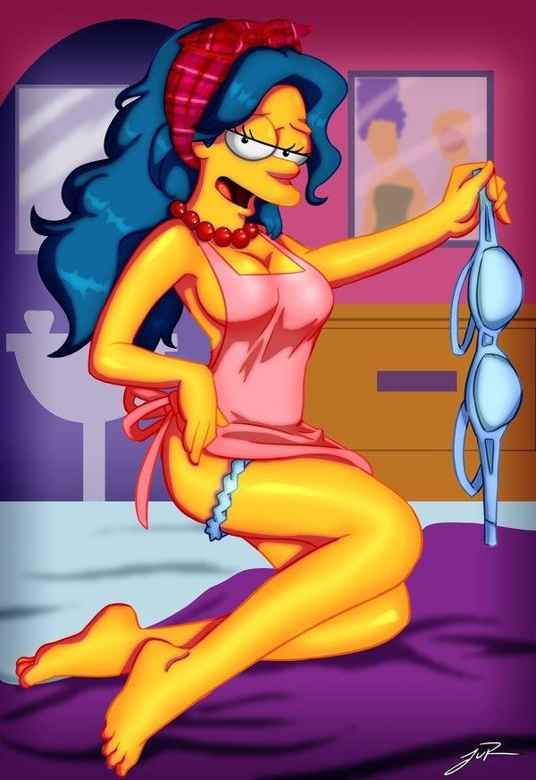 Мардж Симпсон голая. Фото - 28