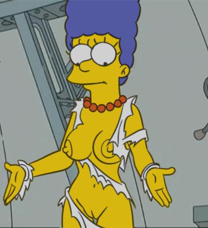 Мардж Симпсон голая. Фото - 3