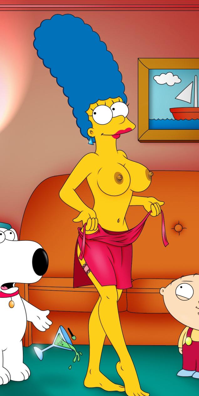 Мардж Симпсон голая. Фото - 32