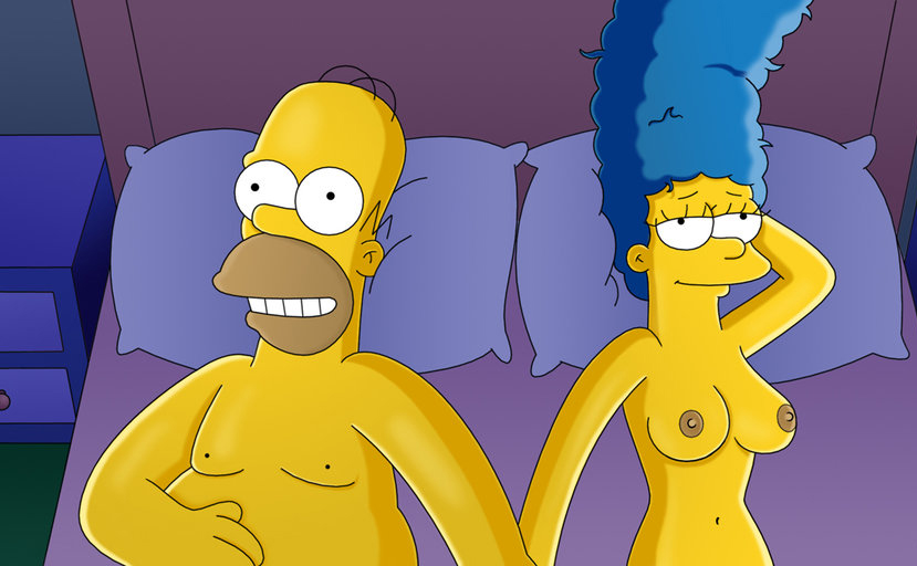 The Simpsons Hentai Marge And Bart