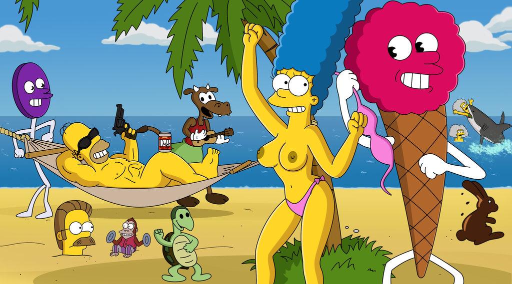 Мардж Симпсон голая. Фото - 40