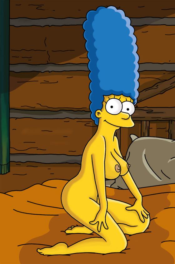 Мардж Симпсон голая. Фото - 41