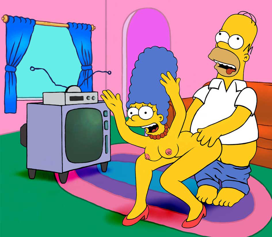 Simpsons Marge Fuck