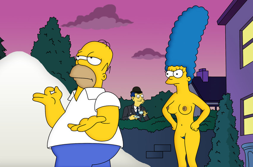 Мардж Симпсон голая. Фото - 43