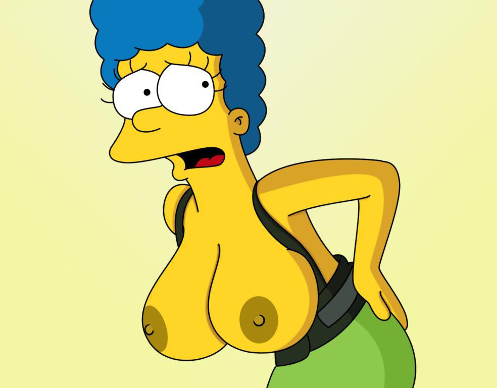 Мардж Симпсон голая. Фото - 44