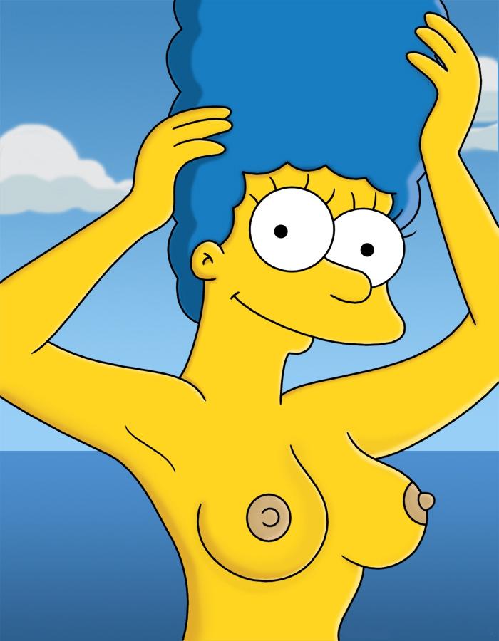 Мардж Симпсон голая. Фото - 47