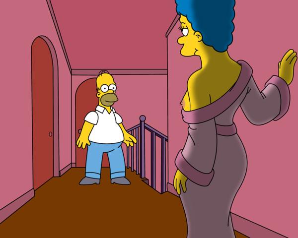 Мардж Симпсон голая. Фото - 48