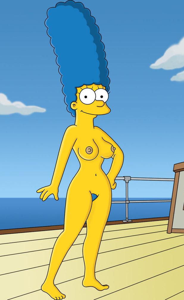 Мардж Симпсон голая. Фото - 49