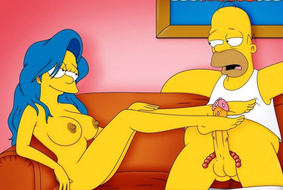 Marge And Homer Simpsons Sex