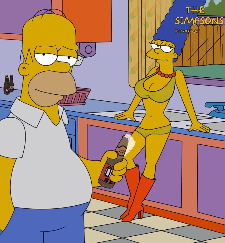 Мардж Симпсон голая. Фото - 61