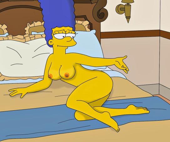 Мардж Симпсон голая. Фото - 62