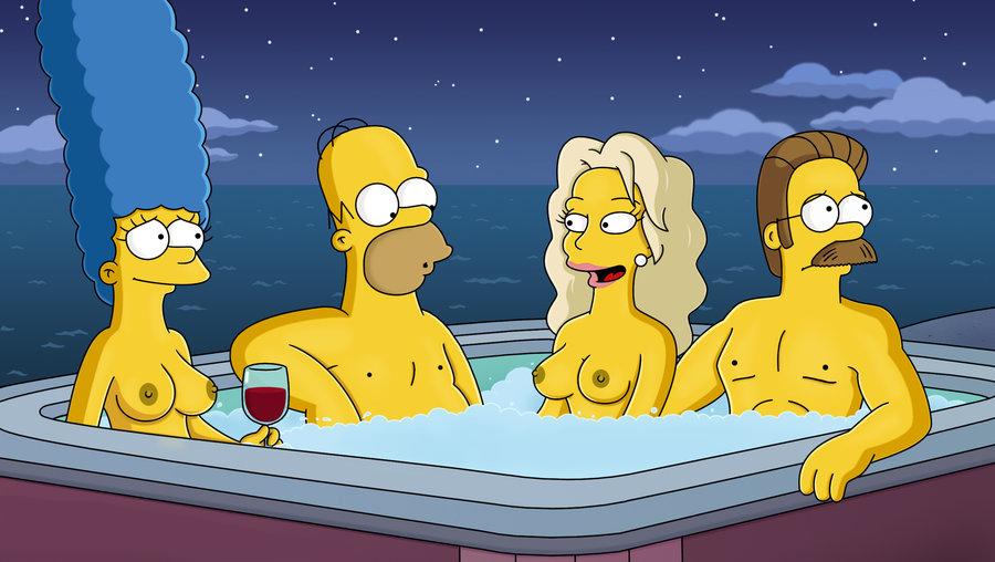 Мардж Симпсон голая. Фото - 63